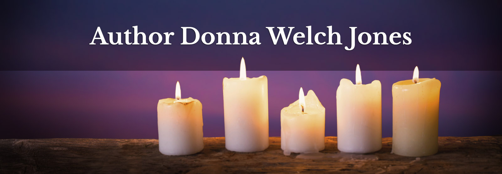 Author Donna Welch Jones